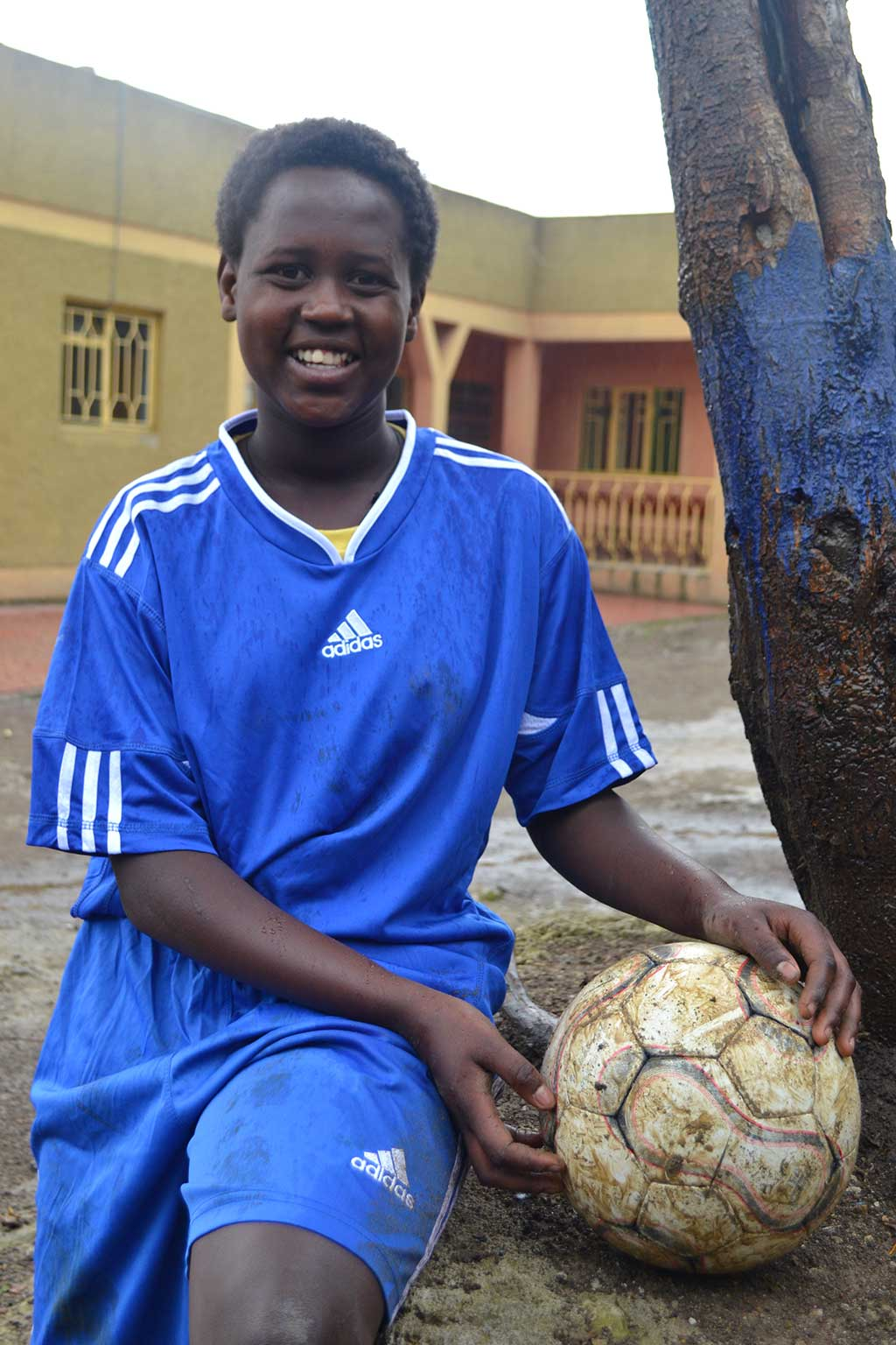 Aspiring footballer