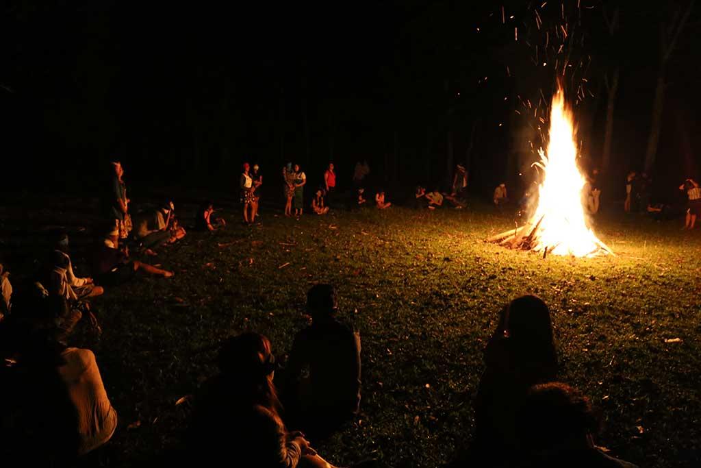 Bonfire in Philippines