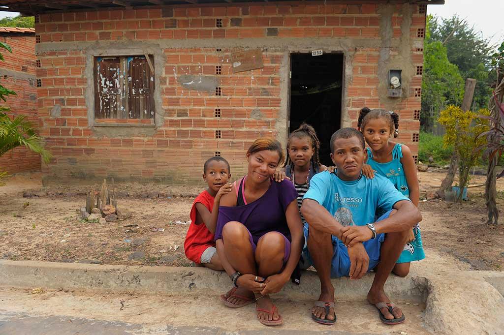 Raimundo and his family