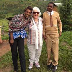 Sylvia Ray sponsor visit