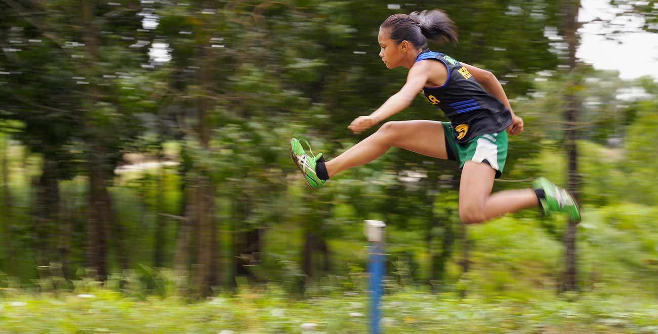 Kenia hurdling