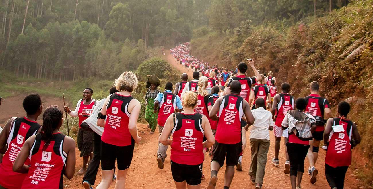 Marathlon in Uganda