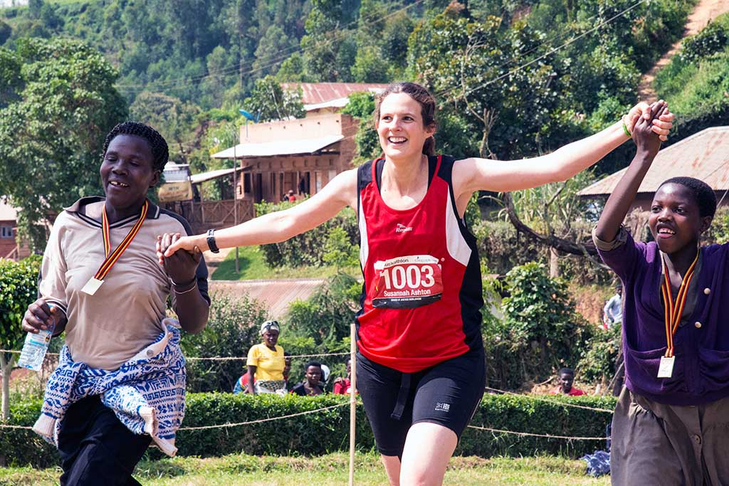 Muskathlon runner