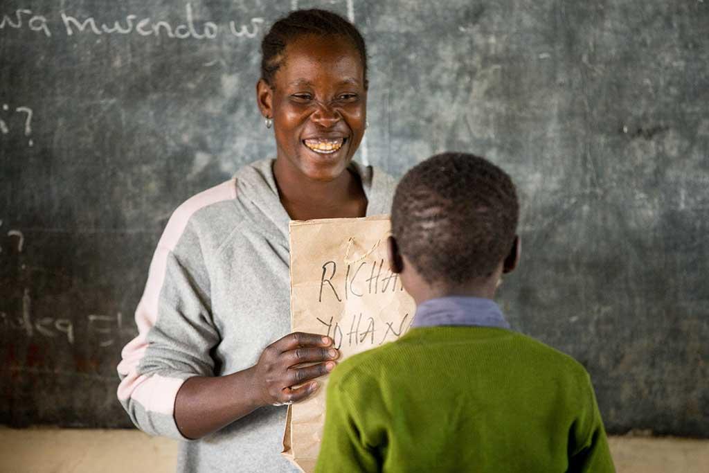 Teacher in Uganda