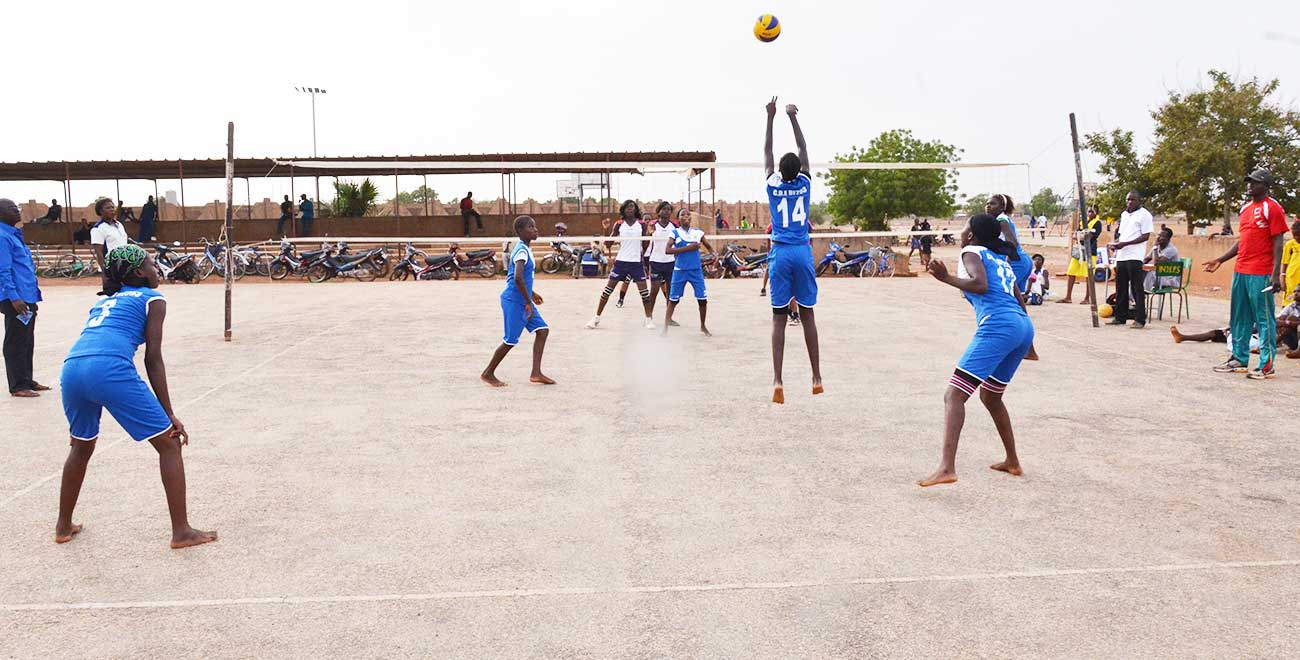 Volleyball in Burkina Faso