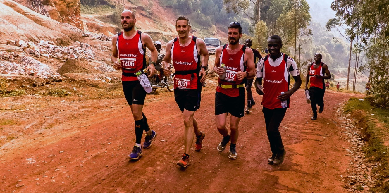 men running Muskathlon