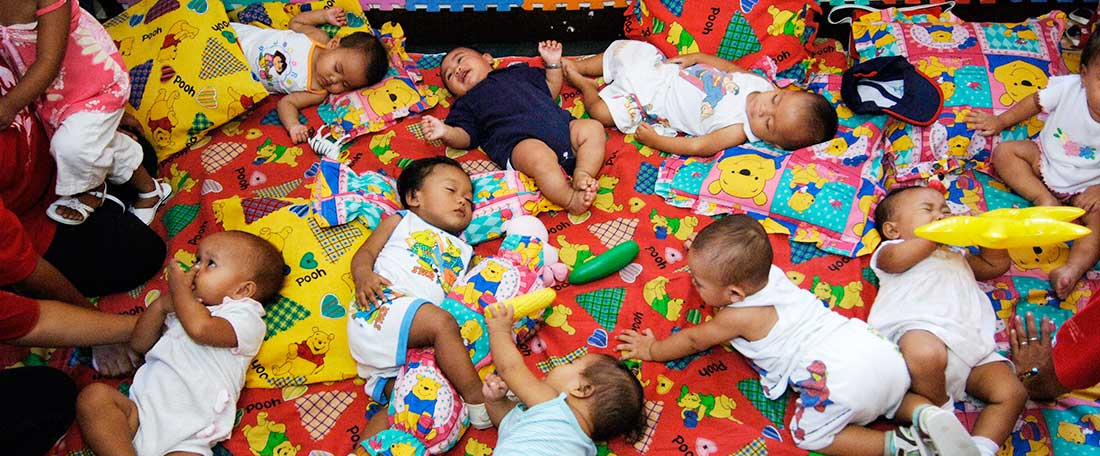 Babies in the Philippines