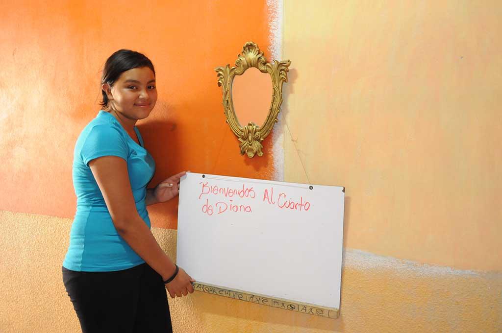 Bedroom in Honduras