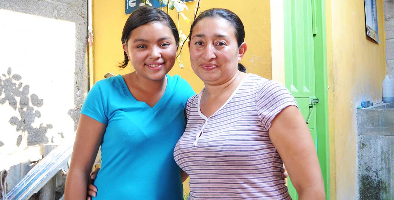 Family in Honduras
