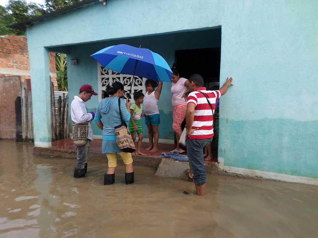 Hurricane Matthew flooding in Colombia