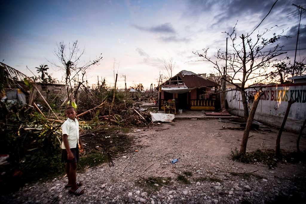 Les Ceyes Hurricane Matthew