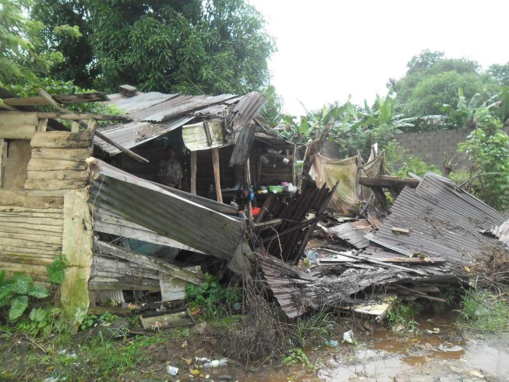 Hurricane Matthew destruction