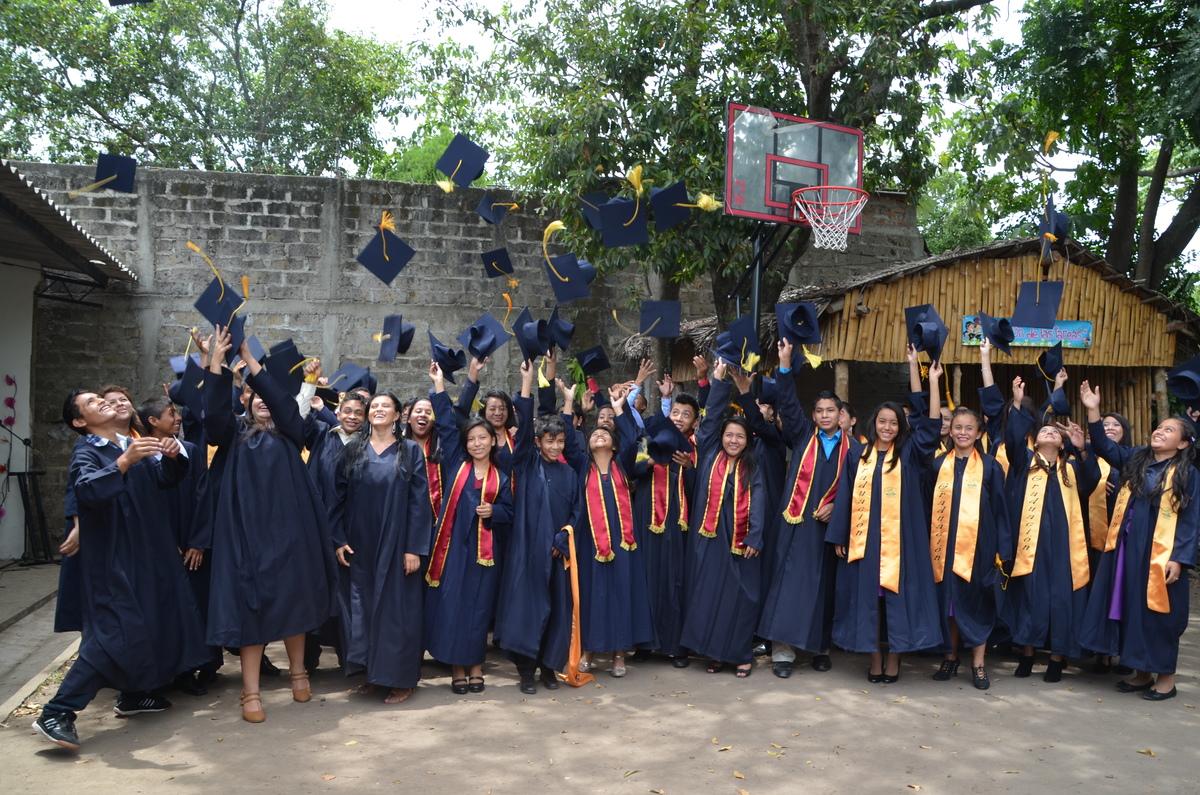 Graduation in El Salvador