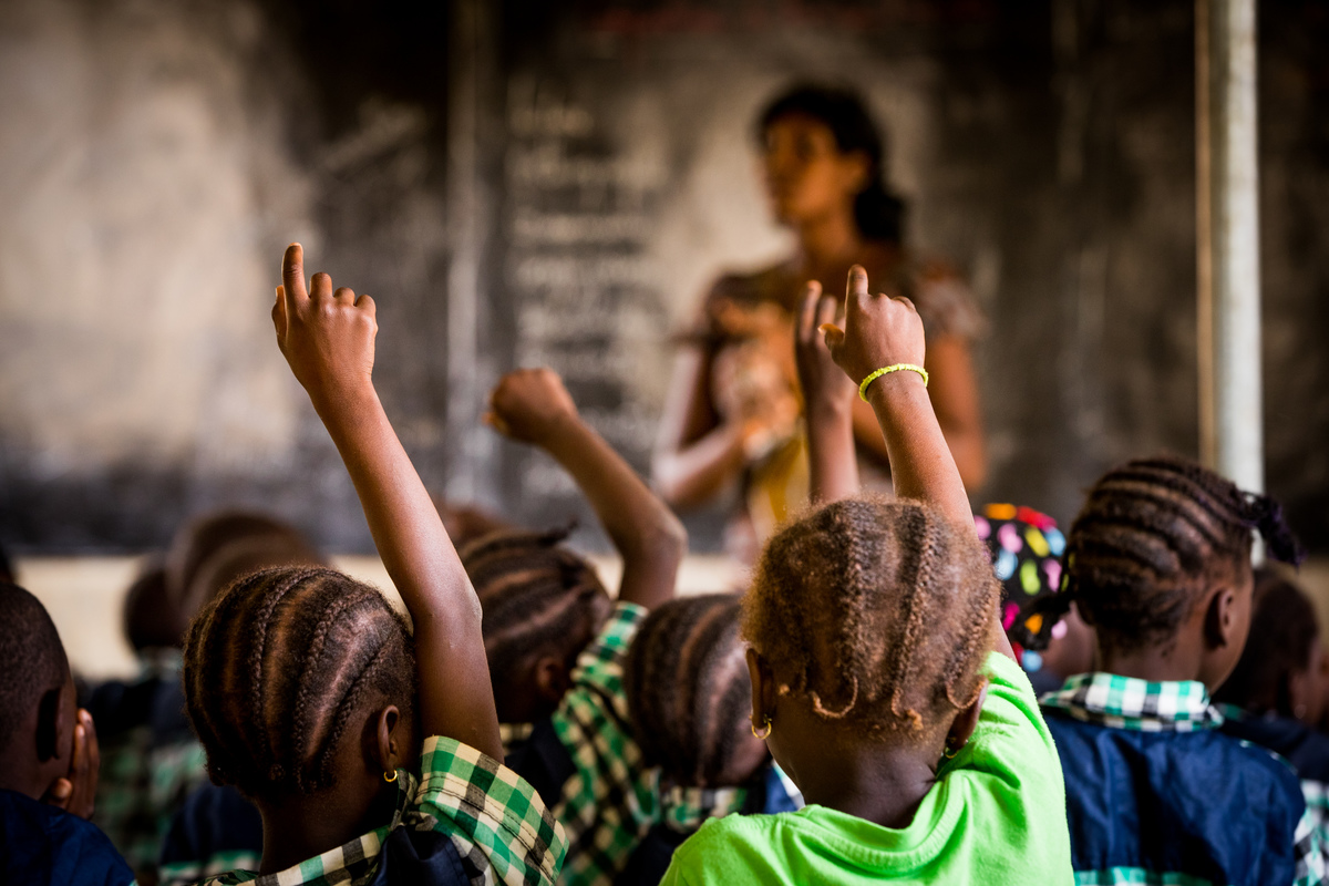 Classroom in Burkina Faso