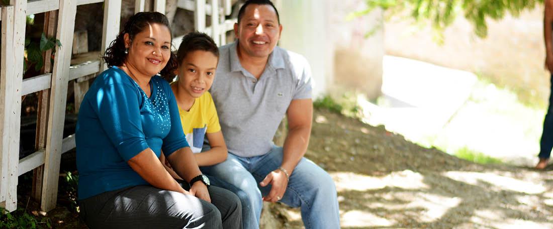 Family from Honduras