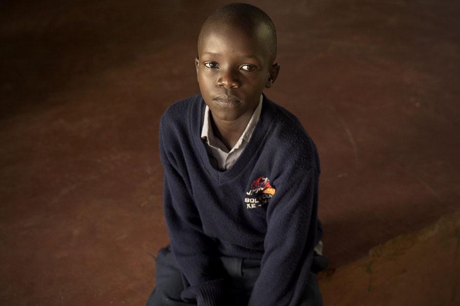 Sponsored child from Kenya