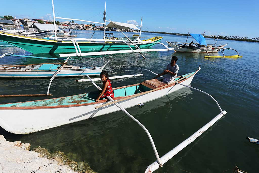 Fishing boat in the Philippines