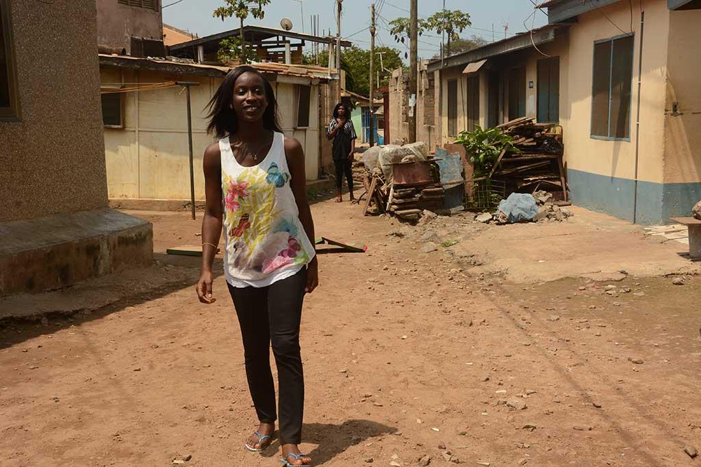 University student in Ghana