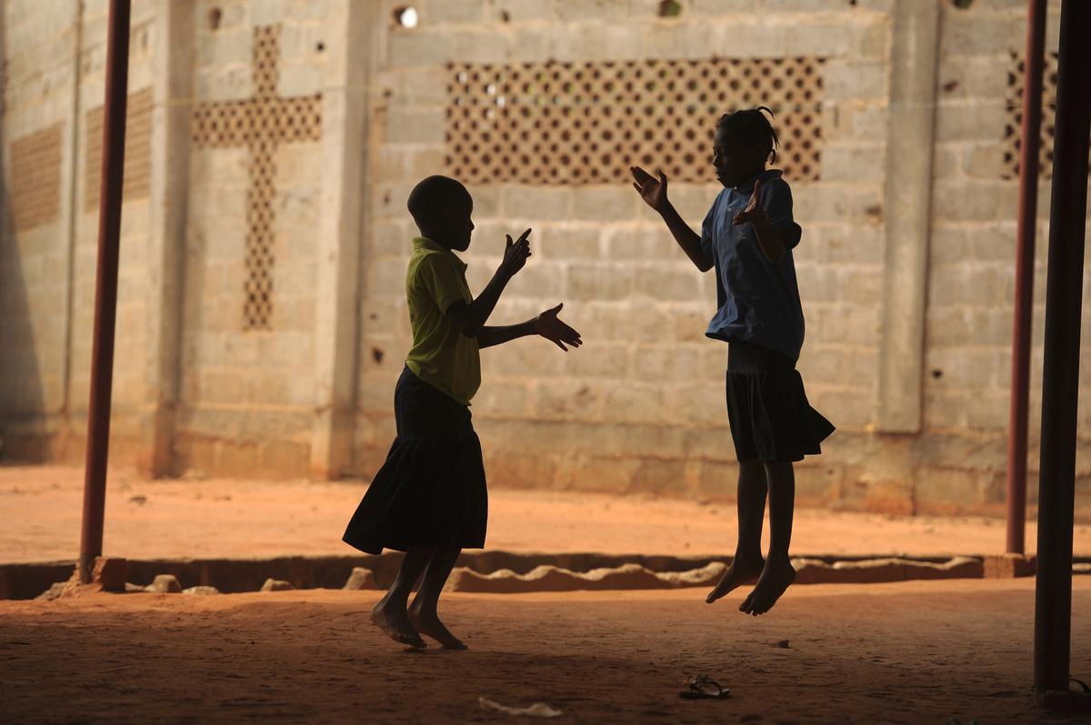 Girls in Togo