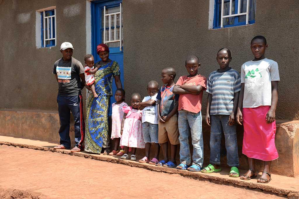 Rwandan family