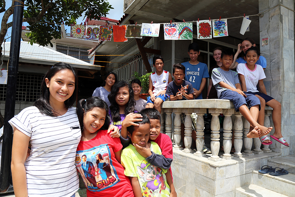 Social worker in the Philippines