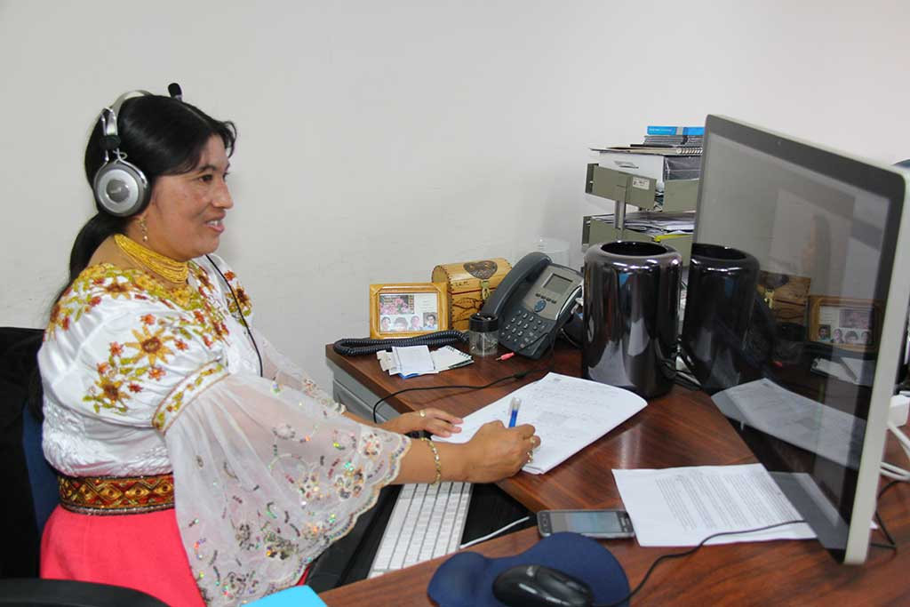 TV producer in Ecuador