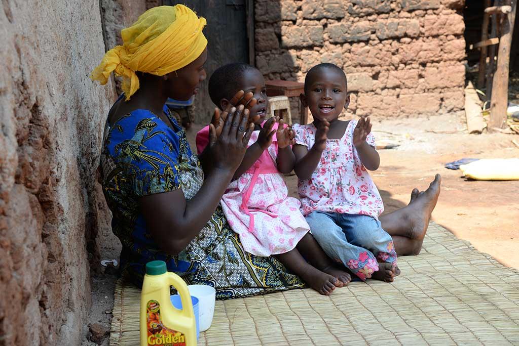 Twins in Rwanda