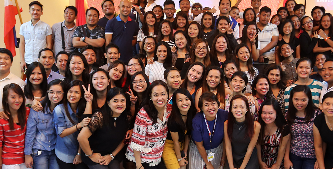 Compassion graduates in the Philippines