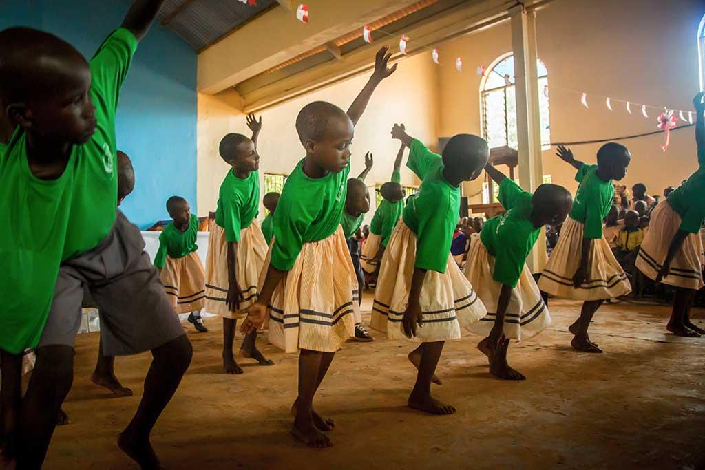 Dancing in Kenya