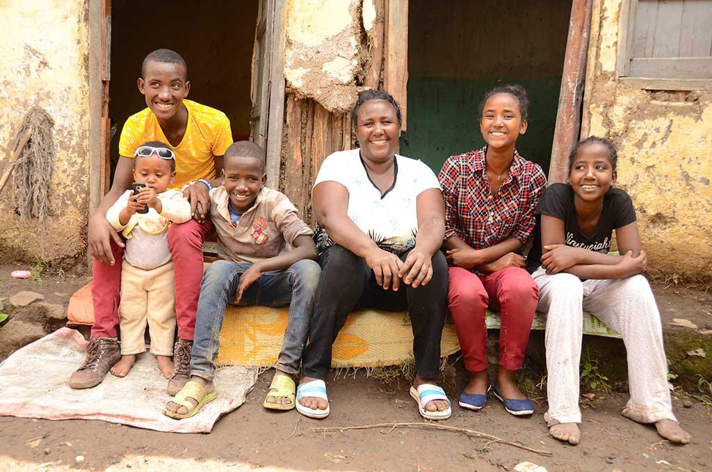 Family in Ethiopia