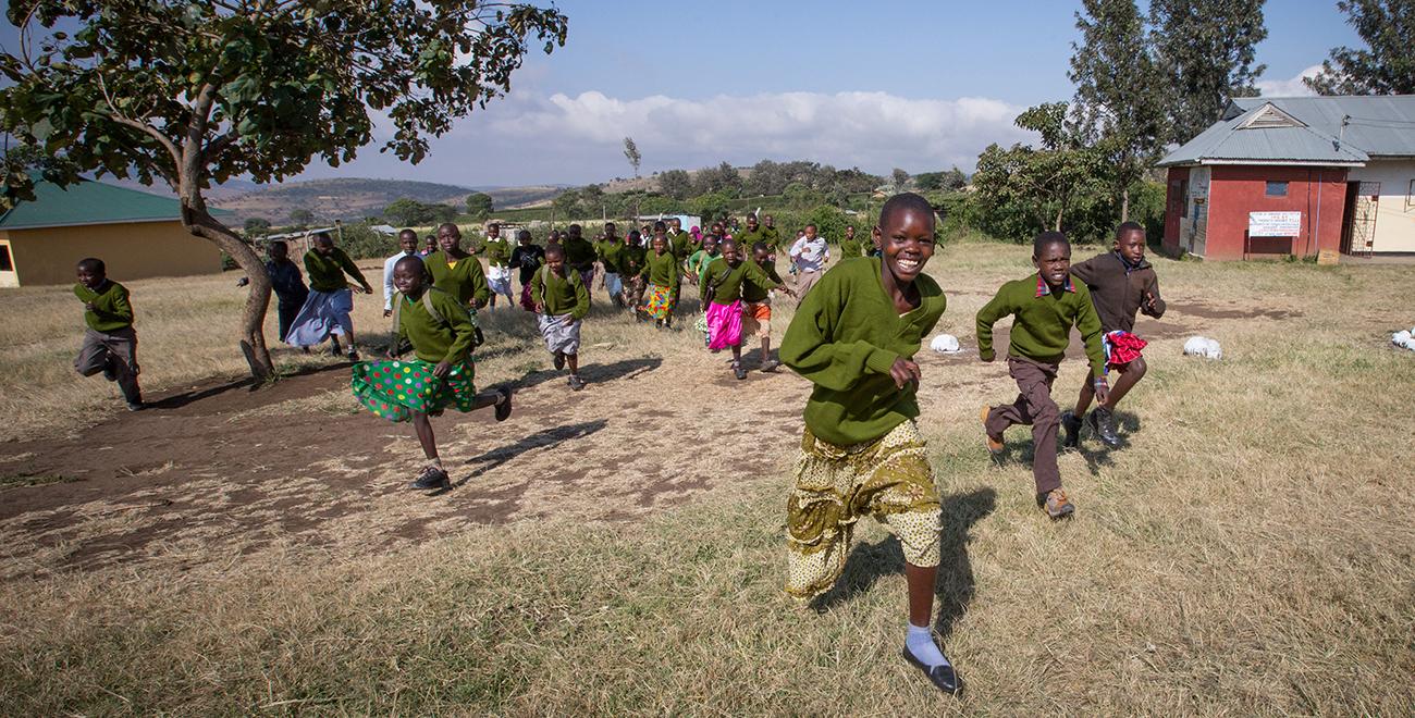 Running in Tanzania