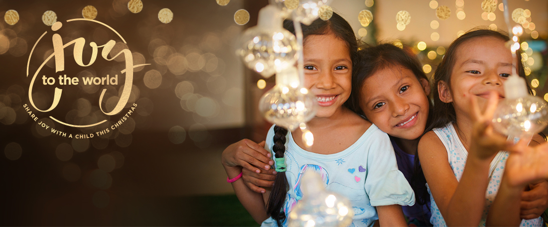 Share joy with a child this Christmas
